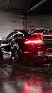 2017 black porsche 911 turbo download 1080x1920 porsche 911 turbo gt back view black