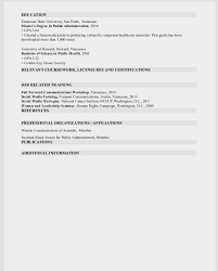 Public Health Resume Objective Public Relations And Marketing Resume Sample