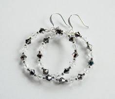 Black Bead Earrings Bronze Chandelier Details About Handmade Hippie Boho Bronze Spiral Charms Red Green