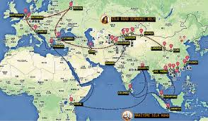 Dubai India Map by What China U0027s One Belt And One Road Strategy Means For India Asia