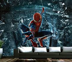 Spiderman Wallpaper For Bedroom Emejing Spiderman Wallpaper For Bedroom Pictures Trends Home