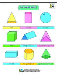3 Dimensional Shapes Worksheets Which Geometric Shape Is Different Worksheets Amp Activities
