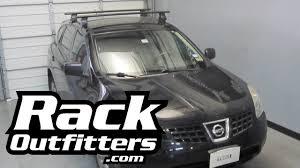 black nissan rogue 2014 nissan rogue thule rapid traverse black aeroblade roof rack u002708