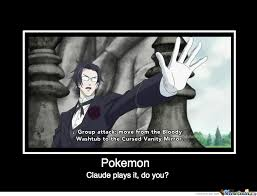 Meme Center Pokemon - black butler pokemon by iloveanimexd meme center