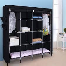 portable bedroom wardrobe clothes storage closet closet