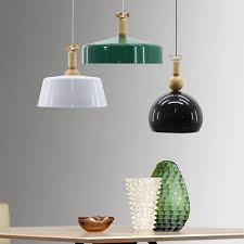 Dining Room Chandeliers With Shades by Aliexpress Com Buy Modern Nordic Aluminum Pendant Lights Hanging
