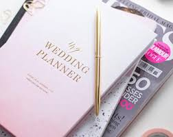wedding organizer book wedding planner book etsy