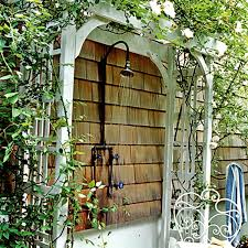 Outdoor Showers Fixtures - 12 different styles of outdoor showers impressive magazine