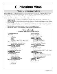 Resume Samples Quran Teacher Resume by Cv Vs Resume Example Resume Vs Curriculum Vitae Template