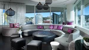 Living Room Vs Parlor Wonderful Room W Hollywood Hotel