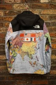 World Map Jacket by Fools Judge Rakuten Global Market Supreme Supreme X The North