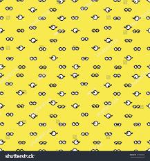 seamless vector illustration goggle one eye stock vector 315802085