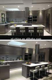 customized modern kitchen high gloss lacquer finish kitchen