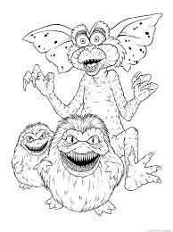 gremlins u0026 raquo coloring for kids print free children u0027s