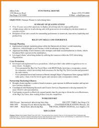 Advertising Sales Resume Examples by Sample Resume Summary Teller Resume Sample