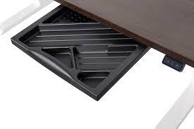 Schreibtisch Reduziert Höhenverstellbarer Schreibtisch Von Dila Mit Weißem Tischgestell
