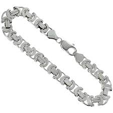 mens silver byzantine necklace images Byzantine chains jpg