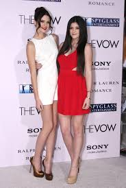 kendall and kylie jenner at the la premiere of u0027the vow u0027 kendall