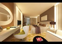 hotel bedroom design and picture with cozy decoration home