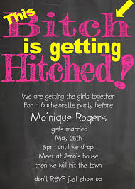 bachelorette party invitations new selections fall 2017
