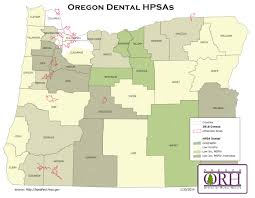 Tillamook Oregon Map by Health Care Shortage Oregon Office Of Rural Health Ohsu