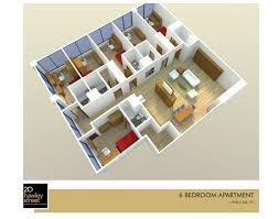 6 bedroom apartment floor plan 20 hawley street