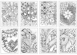 zen color chameleon cool tones set of 5 pens with zen color cards