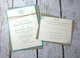 beachy wedding invitations luxury wedding invitations cheap or starfish wedding