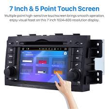 android 6 0 car stereo dvd player for 2008 2016 kia mohave borrego