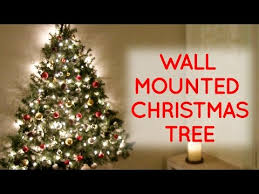 wall christmas tree diy wall mounted christmas tree