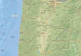 Earthquake Map Oregon by Parts Of Oregon Awoken By 4 2 Magnitude Earthquake Oregonlive Com