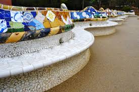 Benches In Park - antoni gaudi stunning benches in park güell barcelona 3