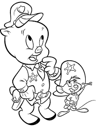 20 looney tunes characters coloring pages images
