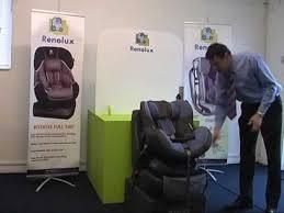installation siege auto renolux 360 renolux confort fitting