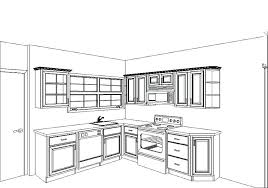 kitchen cupboard designs plans draw kitchen cabinets faced