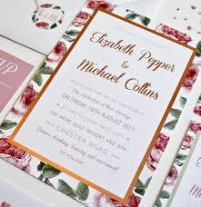 rodo creative bespoke wedding stationery foil unique