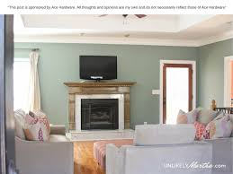 ace hardware 31 days of color living room makeover unlikely martha