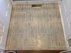 trafficmaster ceramica 12 in x 24 in groutable vinyl floor tile