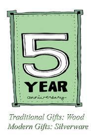 five year wedding anniversary gift ideas gift ideas to celebrate a five year wedding anniversary