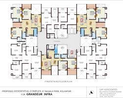 luxury apartments plan with concept picture 32959 kaajmaaja
