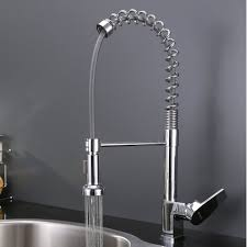 pull down kitchen faucet kraus kpf1612ss single lever pull down