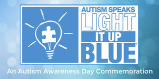 autism speaks light it up blue light it up blue an autism awareness day commemoration oc weekly