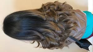 step cutting hair perfect long layered haircut youtube