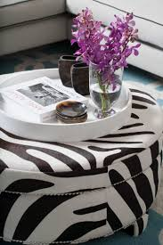 Coffee Table Tray by Large Tray For Ottoman Styling Ideas Houseology