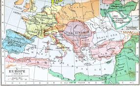 Holy Roman Empire Map Slavic Ethnic Distribution In Europe Around Ad 650 History