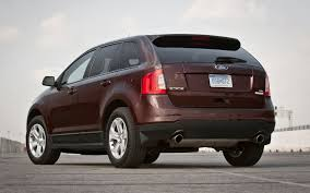 Ford Edge Safety Rating 2012 Ford Edge Sel Ecoboost First Test Truck Trend