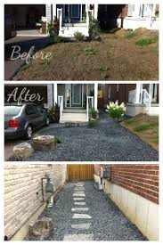 low maintenance landscaping ideas side of house the garden
