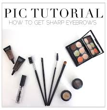 How To Tweeze Your Eyebrows Pic Tutorial How To Get Sharp Eyebrows In 5 Steps Najla Kaddour