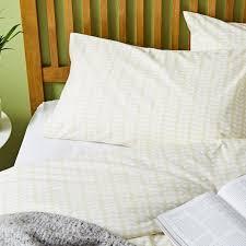 Orla Kiely Multi Stem Duvet Cover Orla Kiely Tiny Stem Single Duvet Cover Set Cream Achica