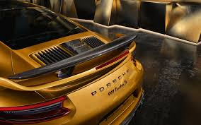 porsche spoiler wallpaper porsche 911 turbo s exclusive series rear spoiler 2017